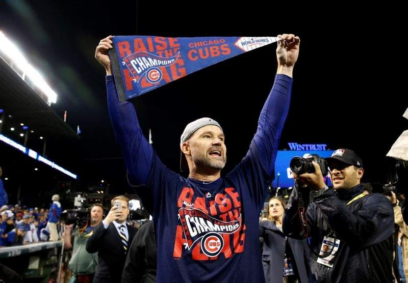 """Former Chicago Cubs catcher David Ross will be part of the 2017 season of ABC's """"Dancing with the Stars."""""""