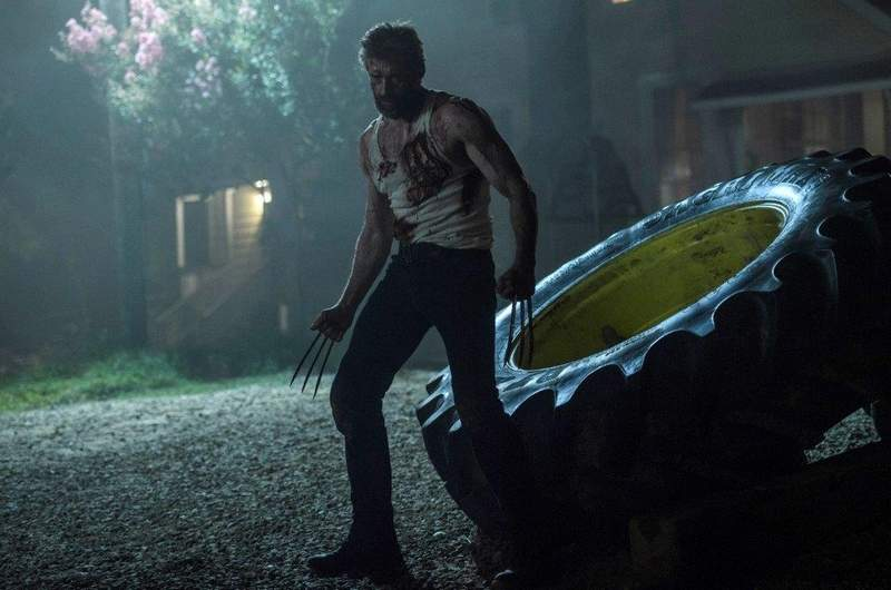 "Hugh Jackman plays the title X-Men character in the R-rated ""Logan."""