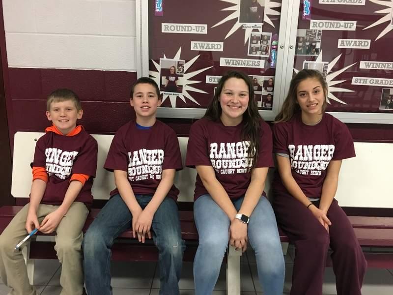 Benton Grade School Chooses Round Up Winners