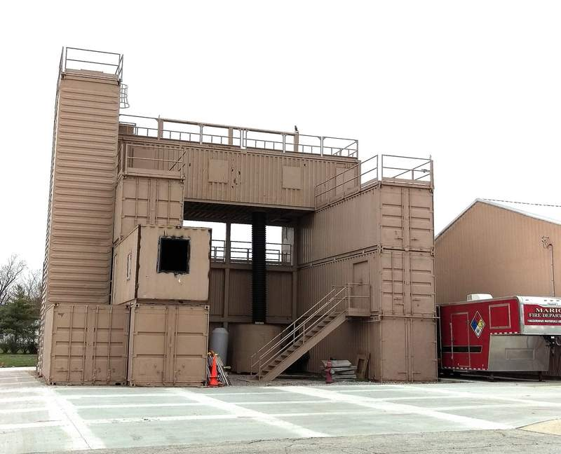The Marion Fire Department's training tower will receive a fresh coat of paint, thanks to the city council's approval of a grant application during its meeting on Monday. According to Chief Jerry Odum, the 911  Regional Training Center grant will cover 100 percent or $9,375 of the funds needed to repaint the tower, located right behind the fire department. The tower was originally constructed in 2005 to give specialty teams a place to practice drills and rescues, but is currently used by the entire department. To accommodate bills that must be collected on time, the paint work must be completed by June 30.