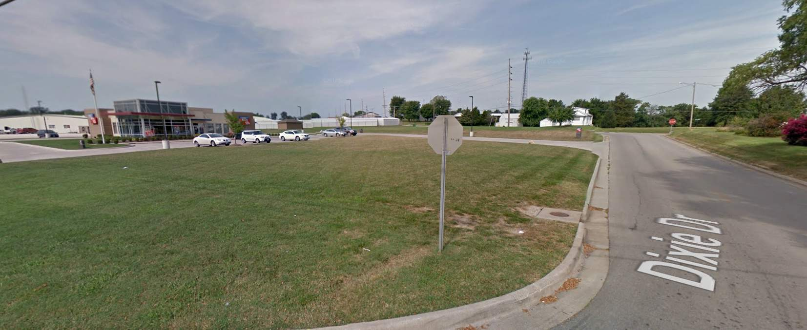 The possible future site of a Taco Bell in the Camptown section of Chester is shown. In the background is First Bank.