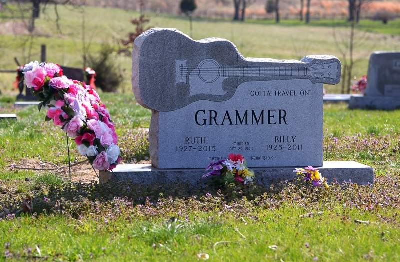 Among those buried at the Mt. Pleasant Cemetery is Grand Ole Opry member Billy Grammer, the Franklin County native who passed away in 2011 following a long and successful career in country music.