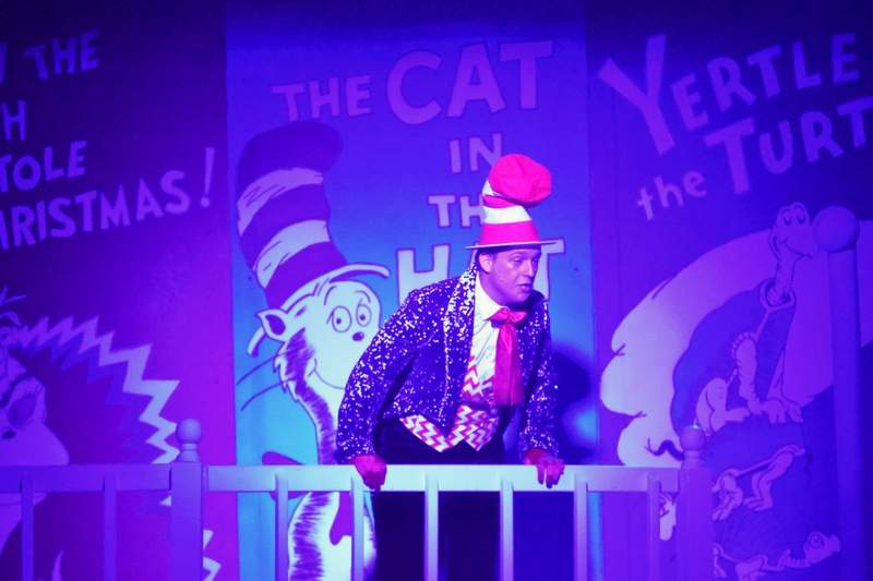 TRAVIS DENEAL PHOTOZach Mitchell, playing the Cat in the Hat.