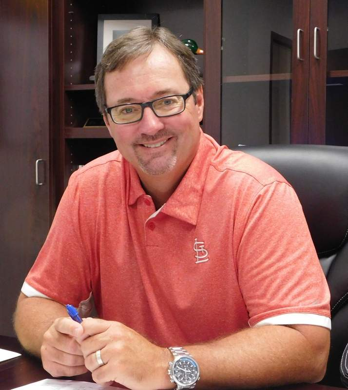 Steve Smith is one of the new faces that will greet Benton Grade School students this week. The Marion native is the new superintendent for District 47.