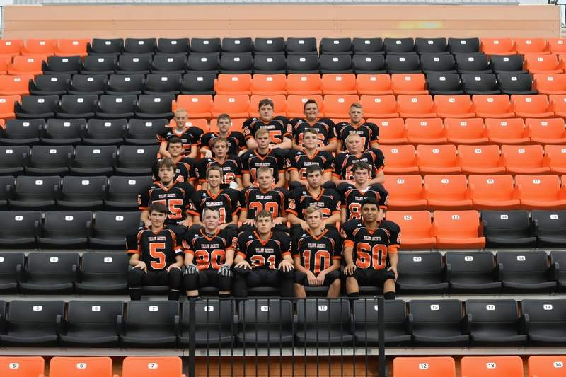 Shown are members of the 2017 Chester High School freshman football team.
