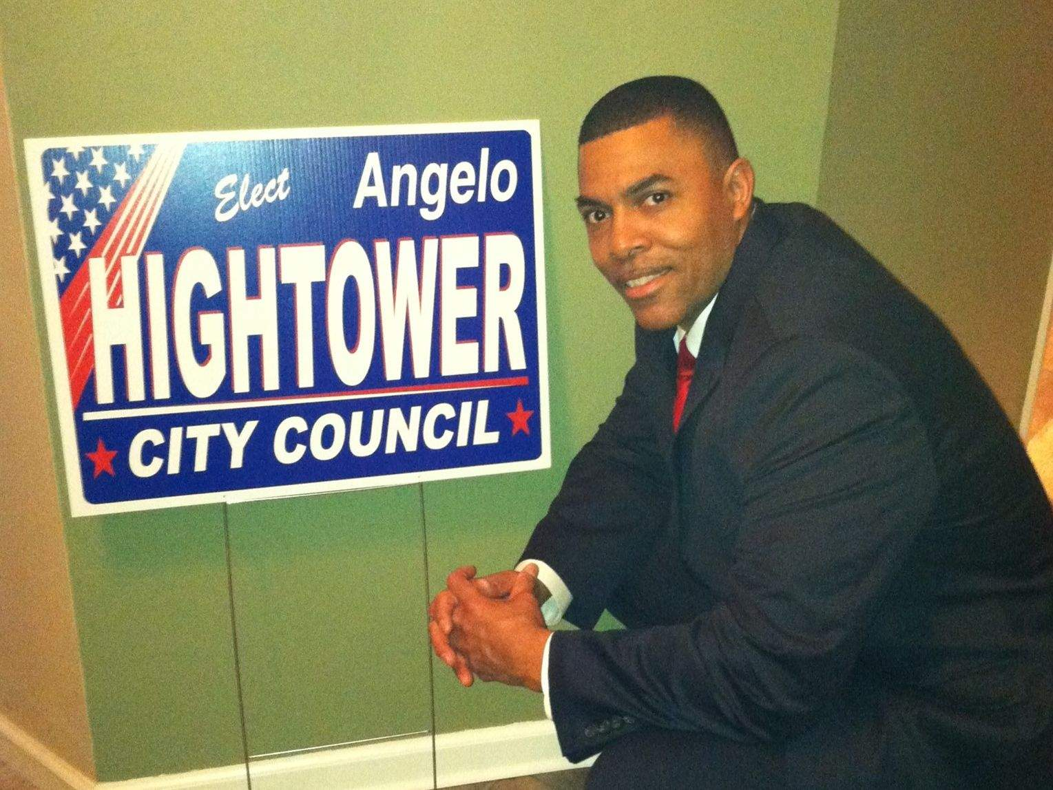 Marion City Commissioner Angelo Hightower has thrown his hat in the ring for the 2019 mayoral seat being vacated by Robert Butler.  Hightower made his official announcement via Facebook late Thursday evening.