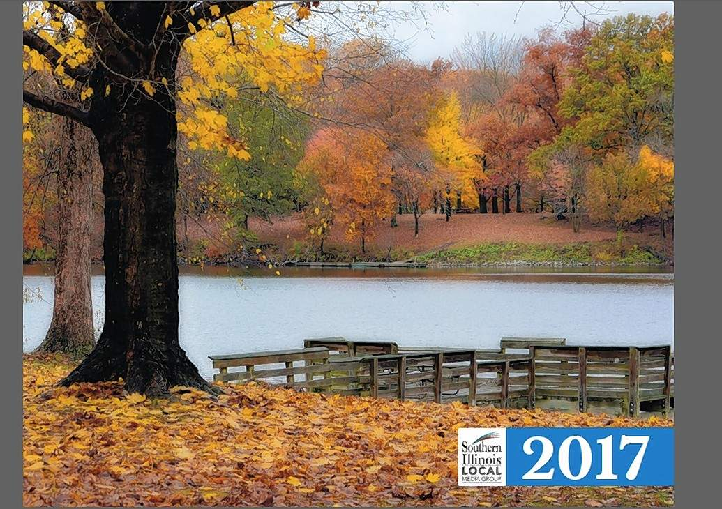 A beautiful cover shot, like this southern Illinois scene on the 2017 calendar, will grace the 2018 calendar.