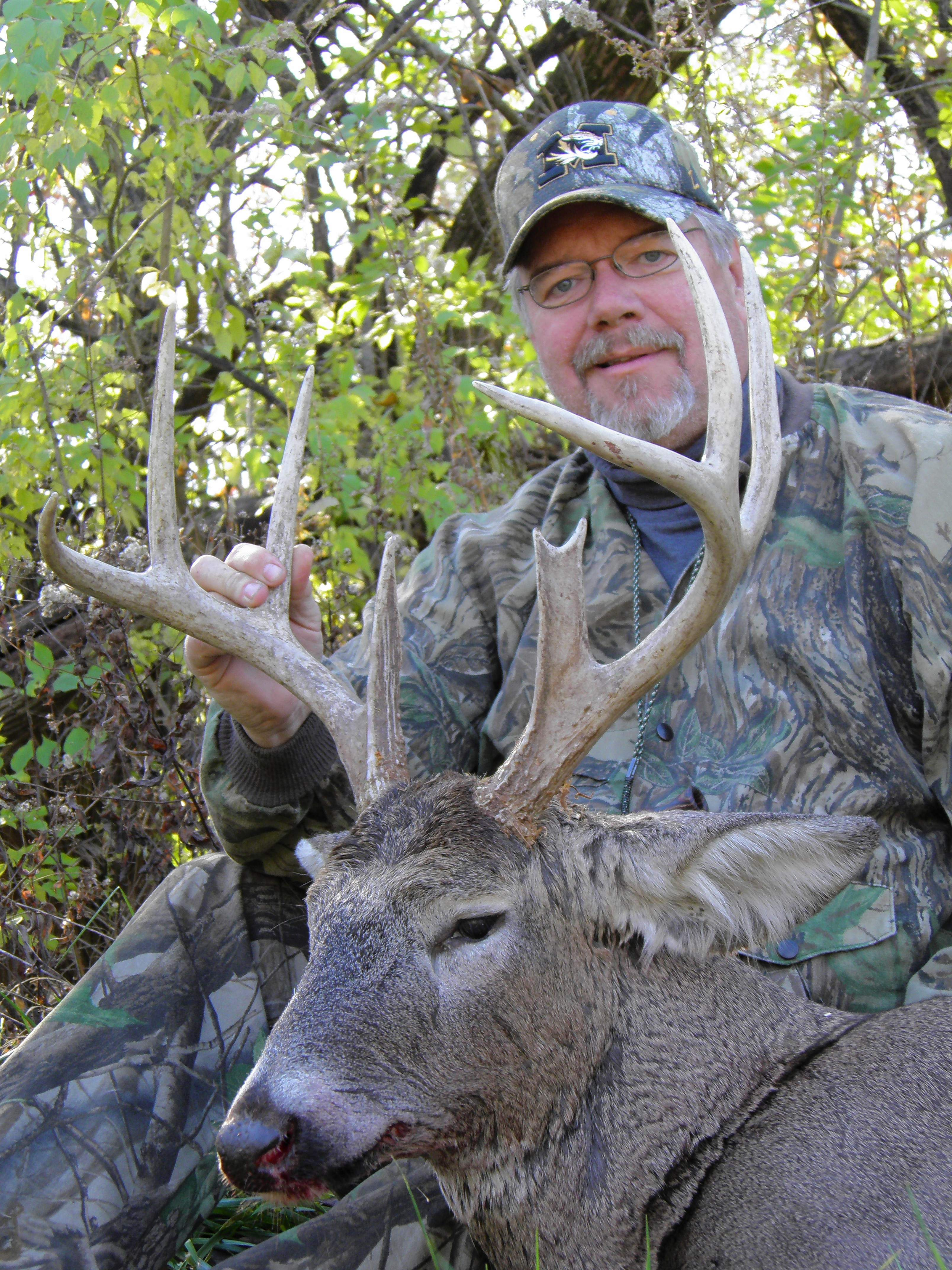 Mike Roux finds early season bucks a bit easier to pattern before the rut kicks in.