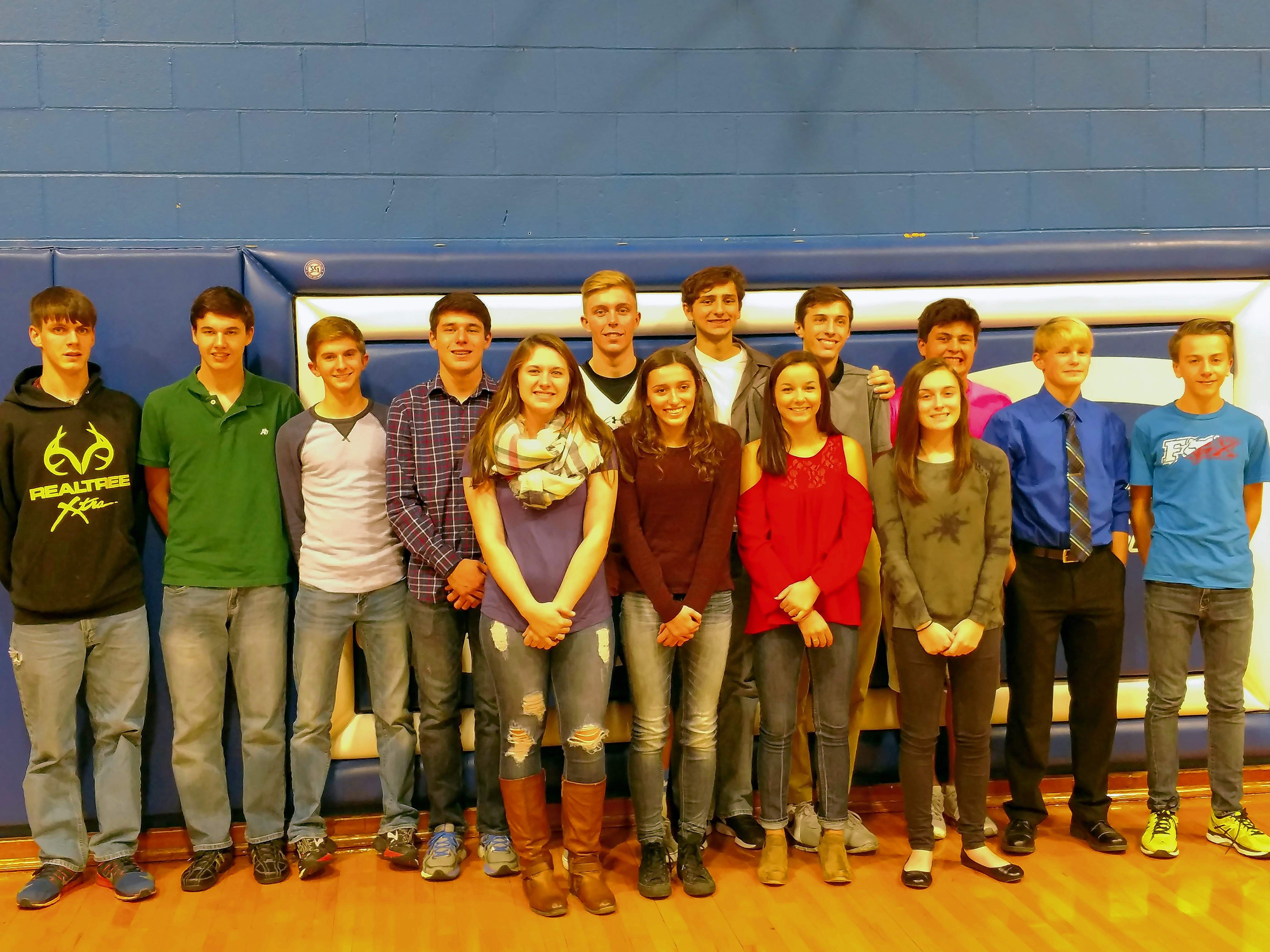 Members of the Steeleville boys and girls cross country teams are pictured.