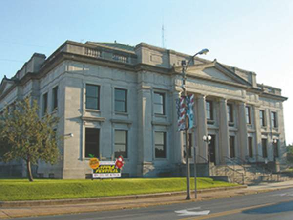 The Jackson County Courthouse in Murphysboro.