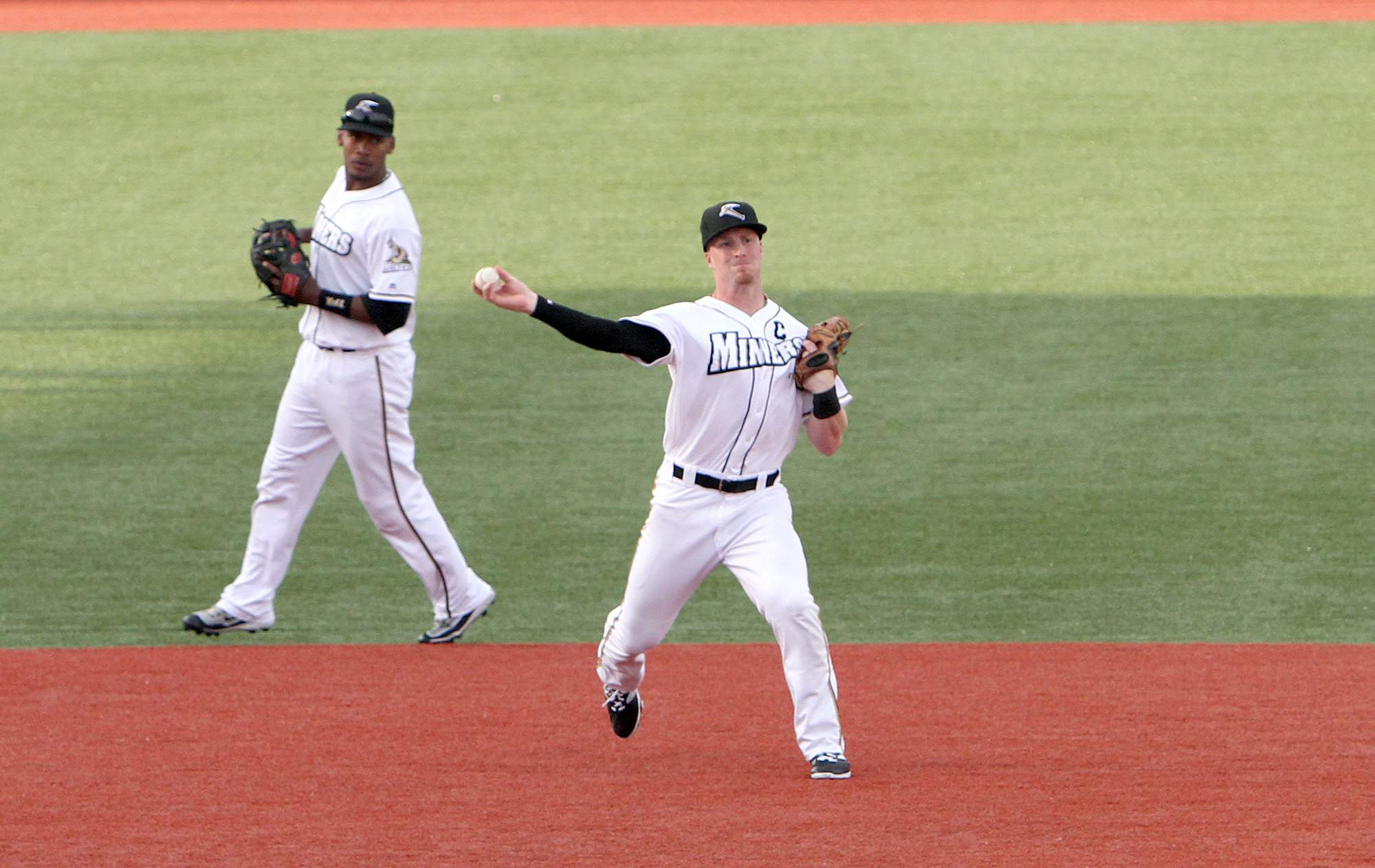 Steve Marino was a fixture at third base for the Miners from 2014-2016.