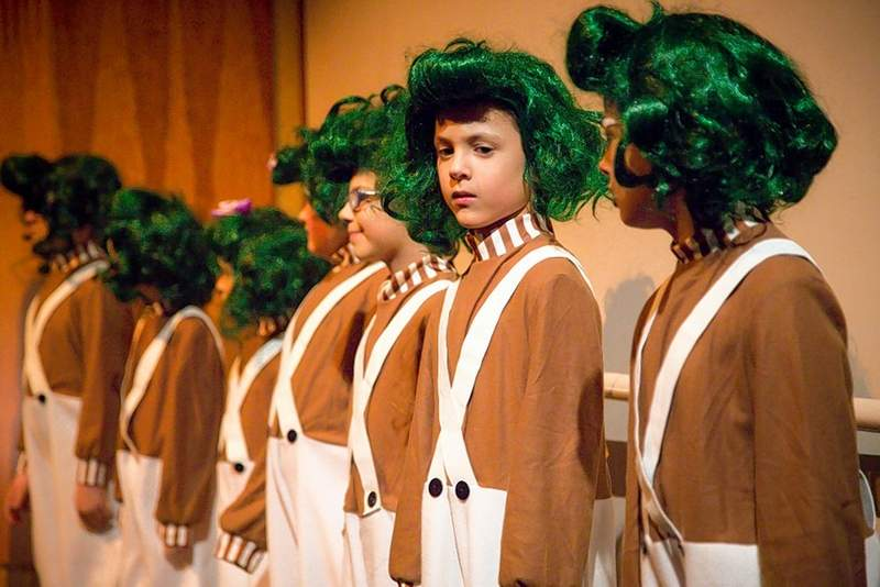 The Herrin-based Kre8ive theater group presented 'Willy Wonka and the Chocolate Factory' at the Marion Cultural and Civic Center this past weekend. The cast, including the Oompa-Loompas, kept the crowd laughing and entertained for the entire performance.