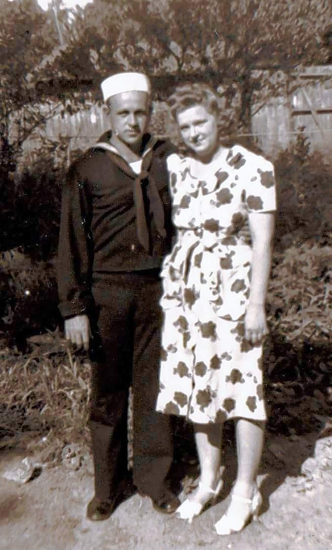 Arthur and Madge Keller in Tamaroa.