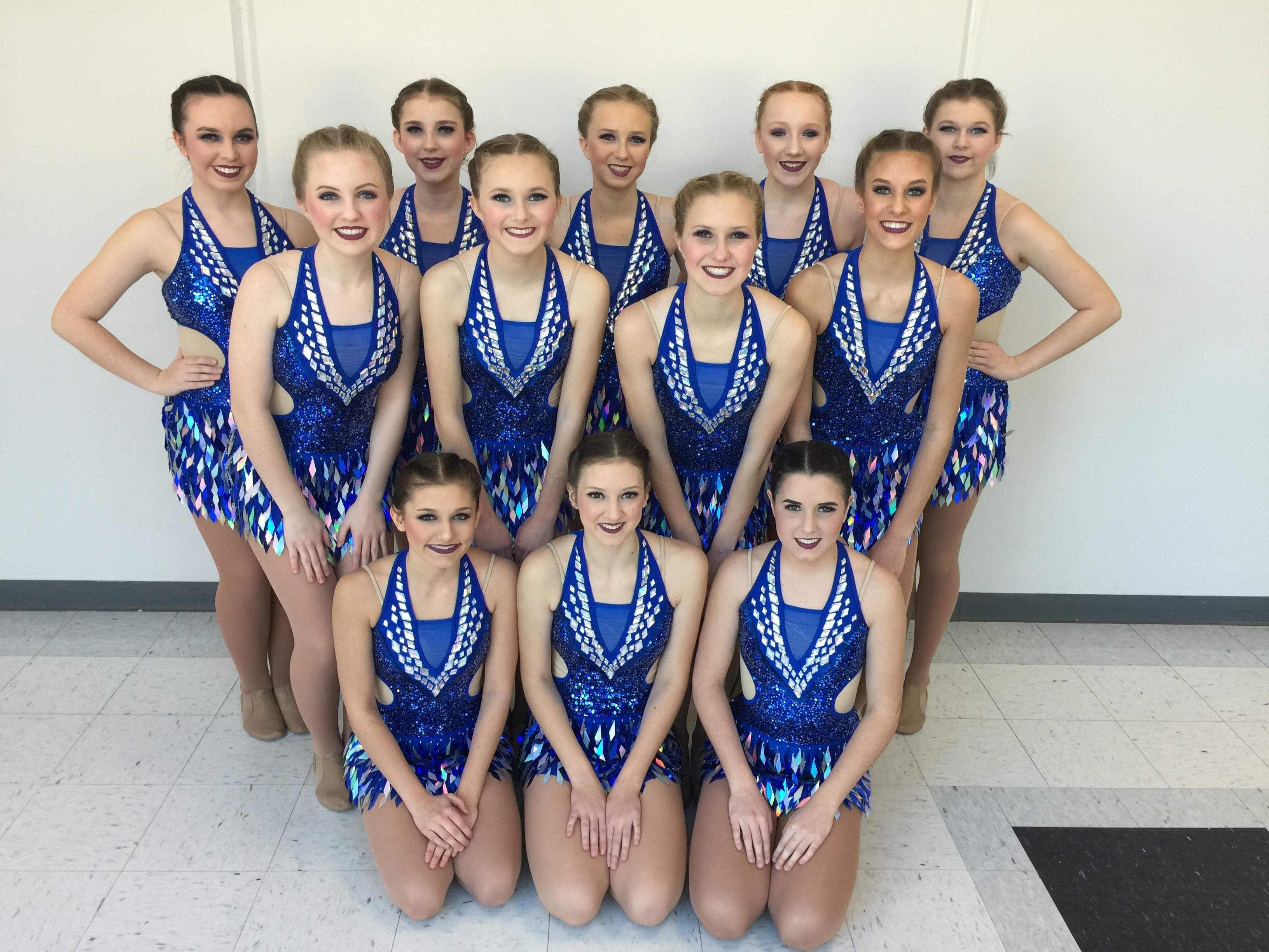 The Pinckneyville Poms will compete in Springfield on Saturday in the Illinois Drill Team Association's state finals.