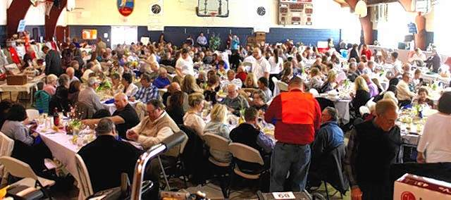 A large crowd was on hand for the St. Mary Help of Christians Gala and Dinner Auction.