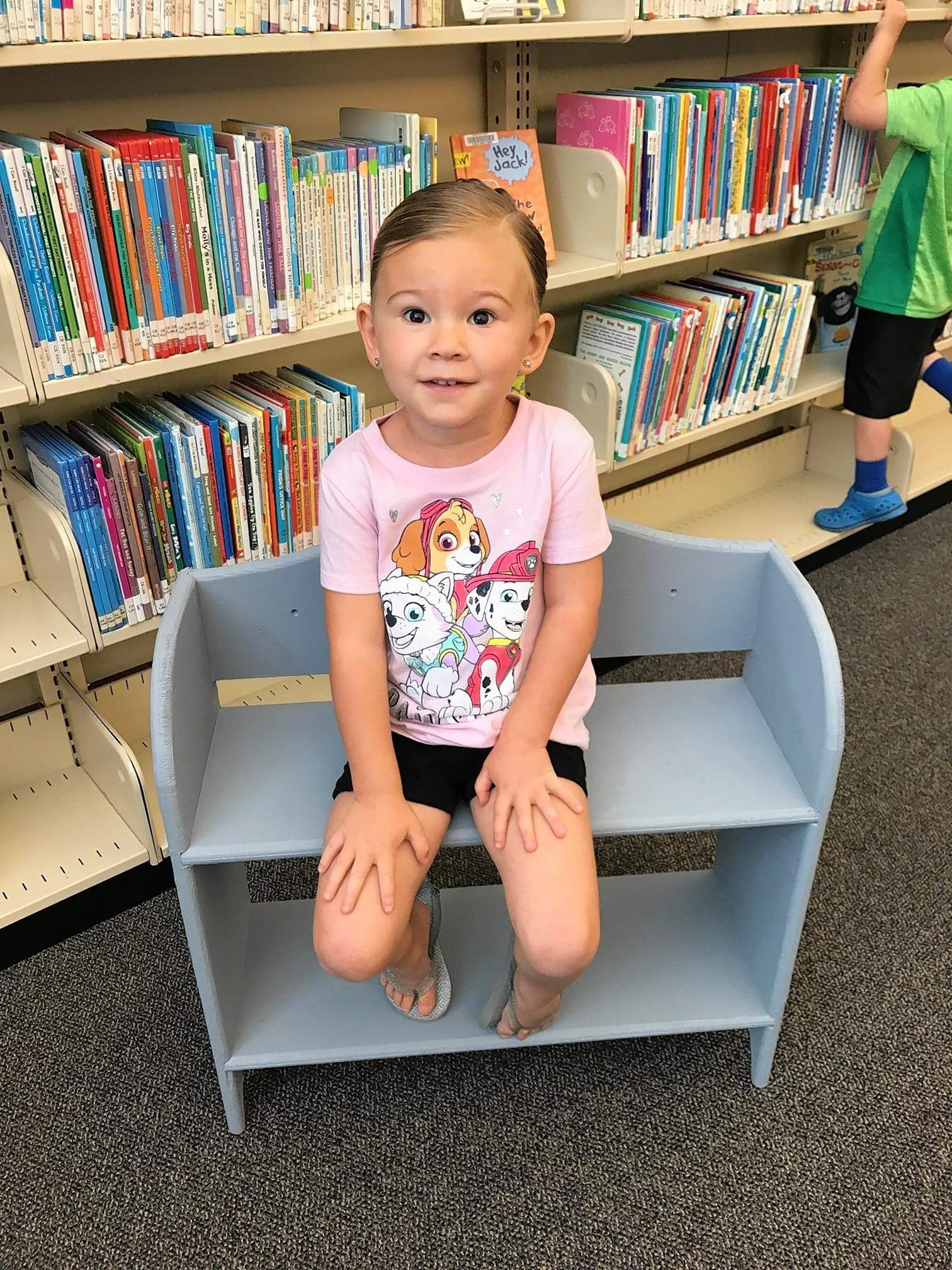 Ella Humbrecht just completed her reading challenge at the Benton Public Library. The summer reading program kicks off June 18.