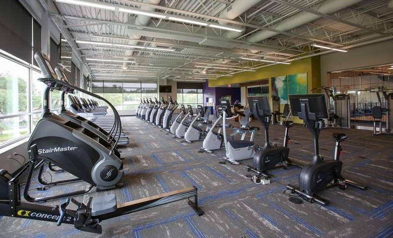 The fitness center will be one of the highlights when the Madison Meadow Athletic Center opens this weekend in Lombard.