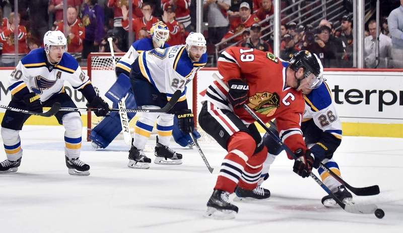 Hockey fans can now hear the St. Louis Blues on WGGH radio in Southern Illinois.