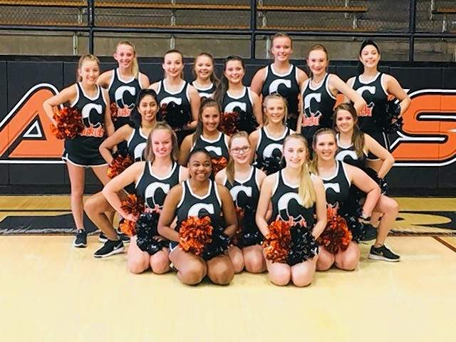 The CHS Dance Team will perform all home football halftime shows with the CHS Marching Yellowjackets.