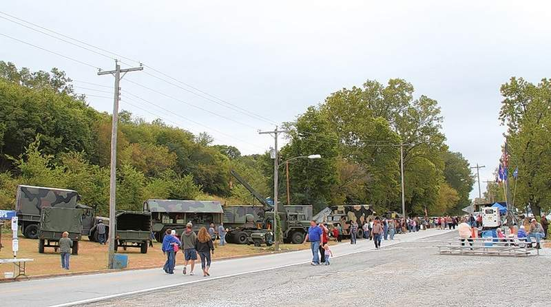 A World War II living camp and historic military vehicles will be on display as part of the LST 325 exhibit at the Port of Chester during Popeye Picnic weekend.