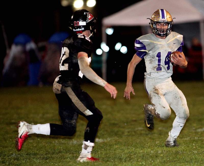 Jace Jenkins will be one of nine other senior football players honored prior to the start of Friday night's regular season finale against Johnston City at Boz Adams Field in Eldorado.