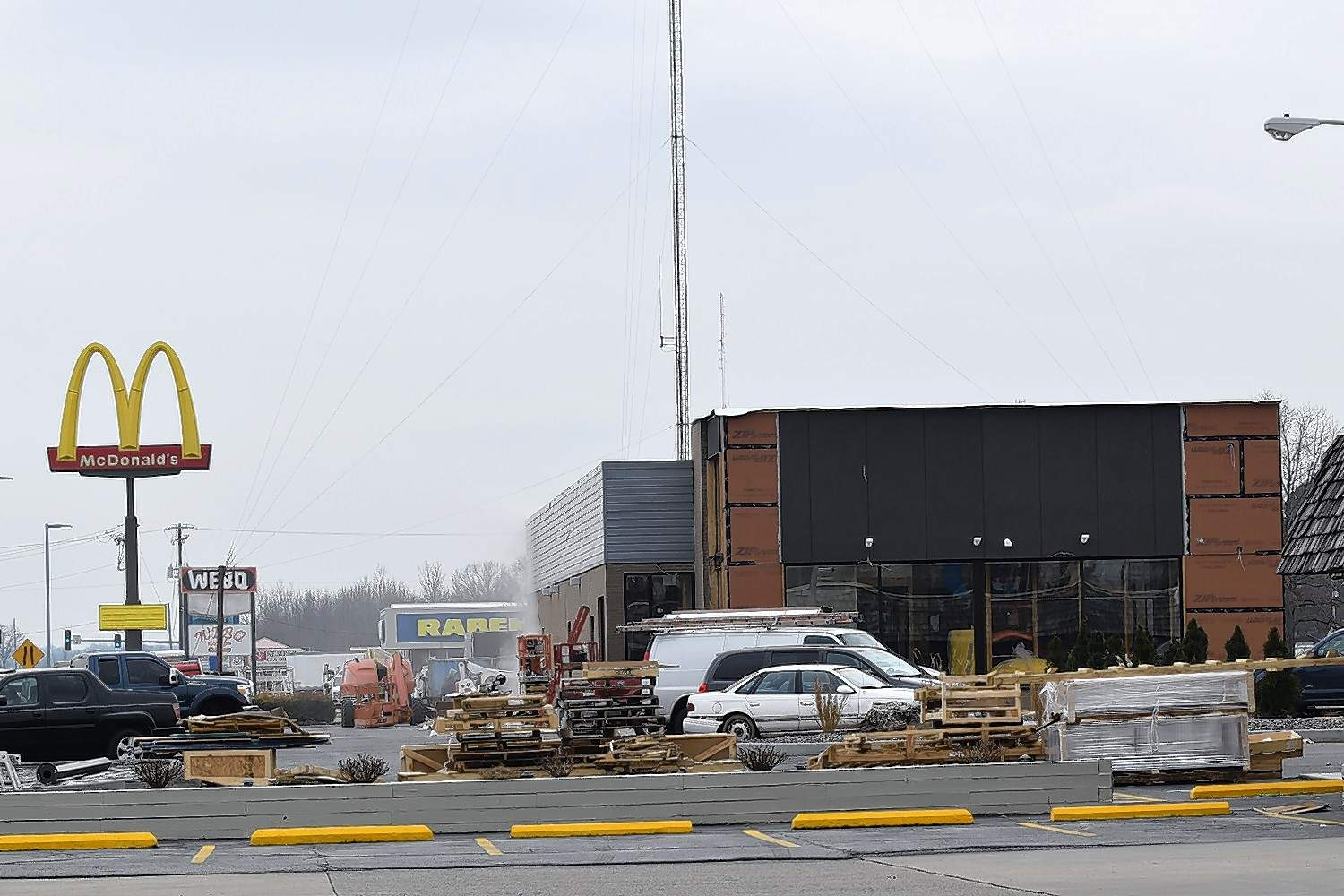 Construction is nearly finished on the new Harrisburg McDonald's, which reopens at 5 a.m. Thursday, Jan. 24.