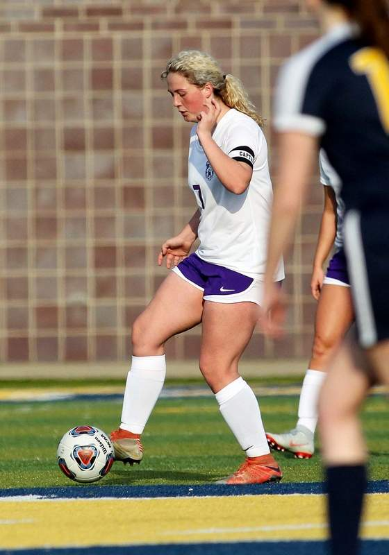 Harrisburg senior Savannah Hubbs had a goal for the Bulldogs in their 4-0 win over Salem Saturday.