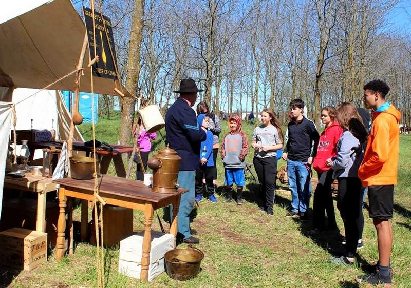A Union soldier discusses some history of southern Illinois involvement on both sides in the Civil War.