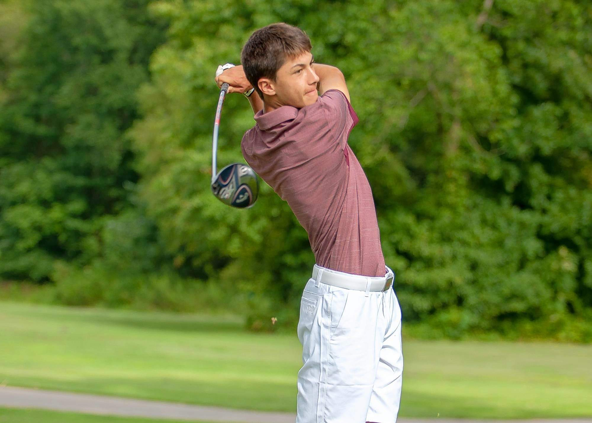 Saluki golfer Matthis Besard tied for fifth place at the Missouri Valley Conference championships held earlier this week. Besard turned in rouns of 75, 67, and 74 for a combined score of 216.