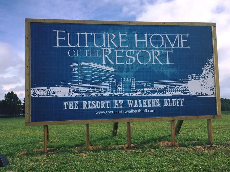 After years of lobbying, the finish line is within reach for the Resort at Walker's Bluff.