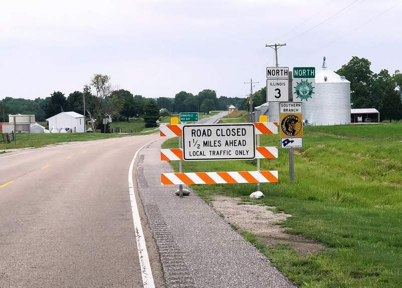 Several area roads are closed or limited to local traffic only due to flooding.