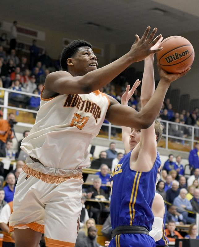 Northrop's Sydney Curry recently signed his National Letter Of Intent to play basketball at John A. Logan College. Curry averaged 18.6 points per game and 12.4 rebounds per game. He led the state of Indiana in offensive rebounds his senior year.