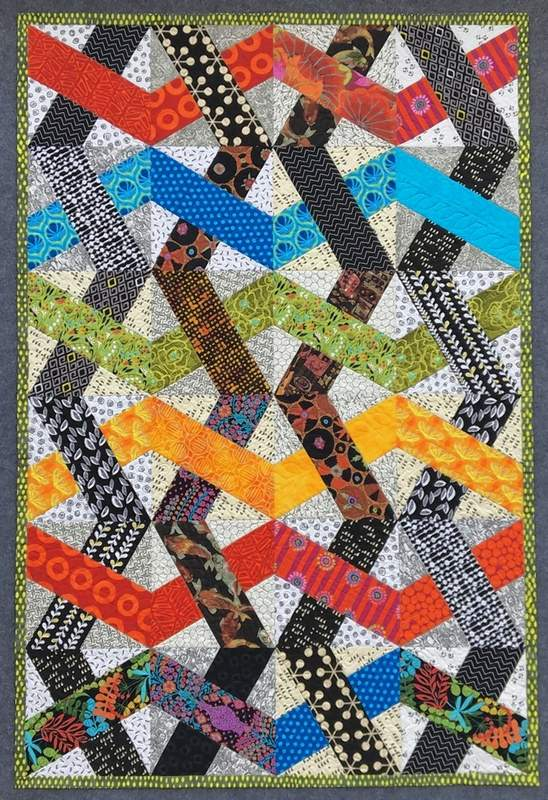 This quilt, designed by Marion resident Linda Woodard could be an award winner.