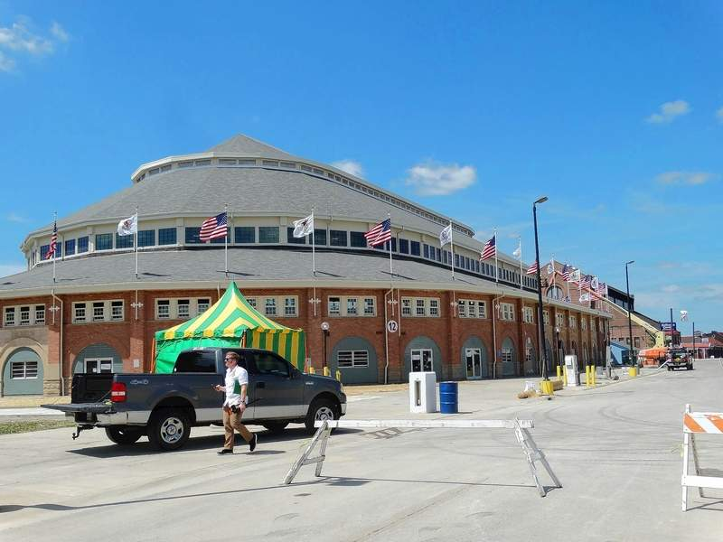 The historic Coliseum on the fairgrounds will reopen this year after being closed for renovations in 2016. A construction crew removed the roof and wooden foundation of the building and replaced it with steel. The restoration cost about $12 million.