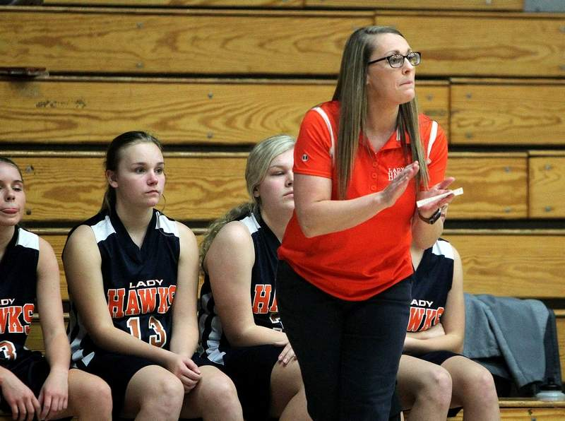Gallatin County head coach Tiffany Sauls and the Hawks have the No. 1 seed at the Shawnee Regional, which begins next week.