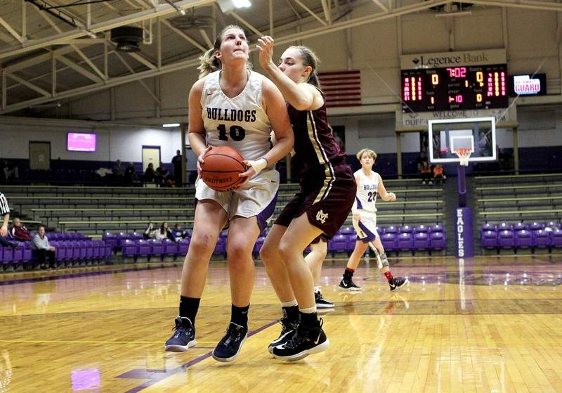 Harrisburg senior Lydia Miller was one five southern Illinois girls basketball players in Class 1A & 2A to be named to the Associated Press All-State Girls Basketball Team.