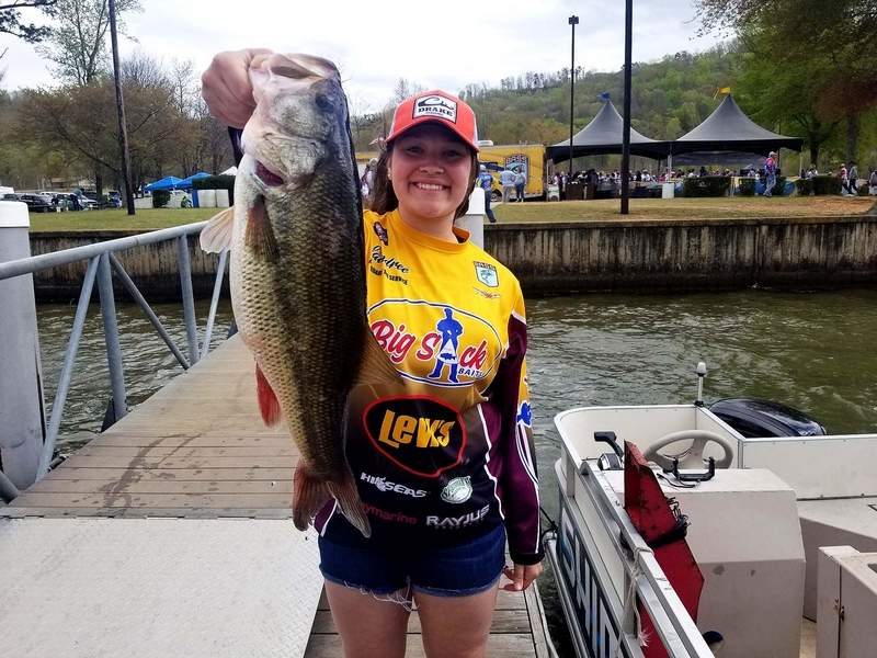 Benton sophomore Laindree Richardson was recently voted as one of the top student athletes to the 2020 Bassmaster High School All-State Fishing Team.