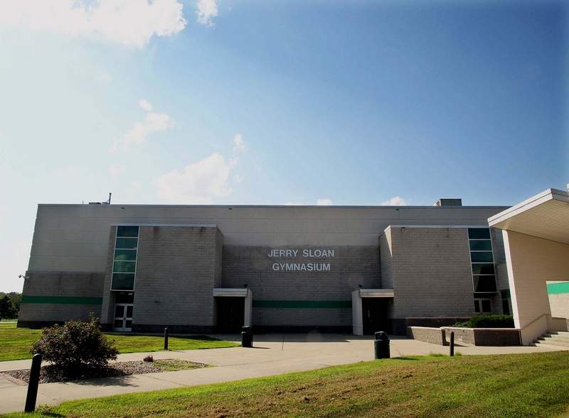 The Jerry Sloan Gymnasium was named for the McLeansboro native in December of 2012. Sloan graduated from McLeansboro High School in 1960 and played collegiately at Evansville and professionally for the Chicago Bulls. After his playing days, Sloan coached Evansville, Chicago and was a longtime coach with the Utah Jazz.