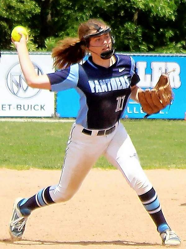 Pinckneyville's Megan Engelhardt has verbally committed to Lyon College after she graduates.