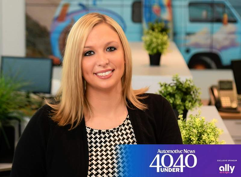 "Ashlee Church has been named to Automotive News' ""40 under 40."""