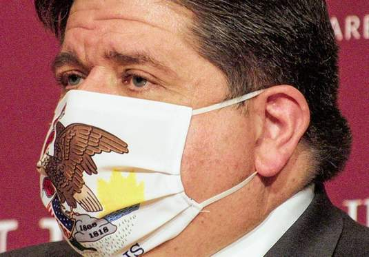 Gov. J.B. Pritzker and other officials continue to urge the use of face masks to combat the spread of the virus.