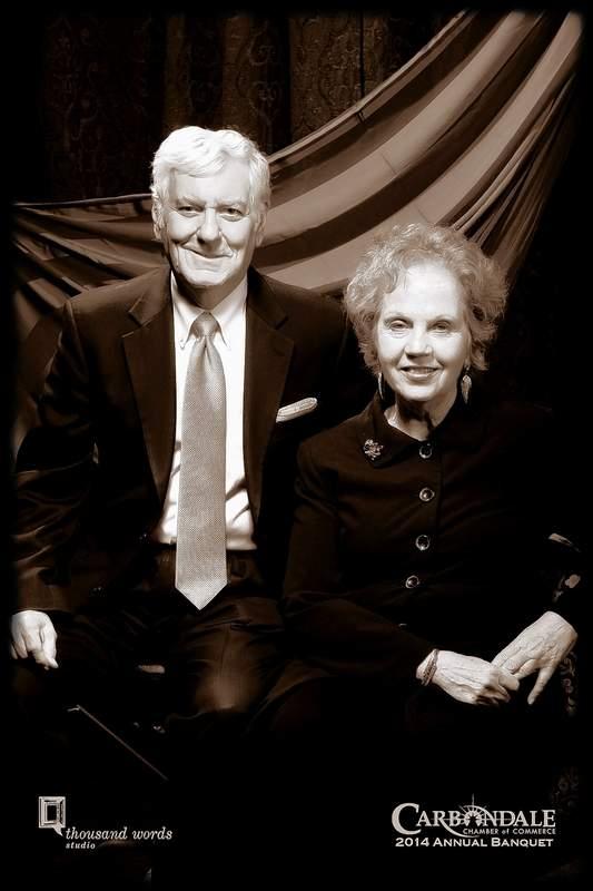 Glenn and Jo Poshard