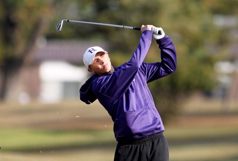 Harrisburg senior Andrew Bittle will close out his golf career Tuesday at the Centralia Sectional, playing as an individual.
