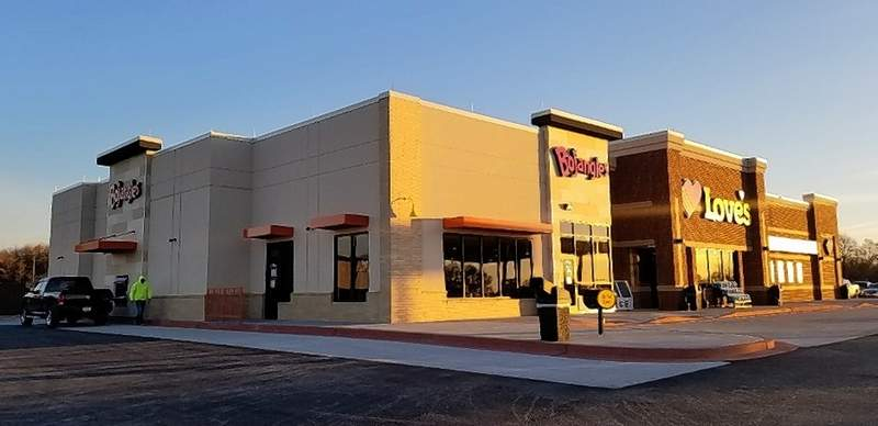 Marion's new Love's is home to Illinois' first bojangles.