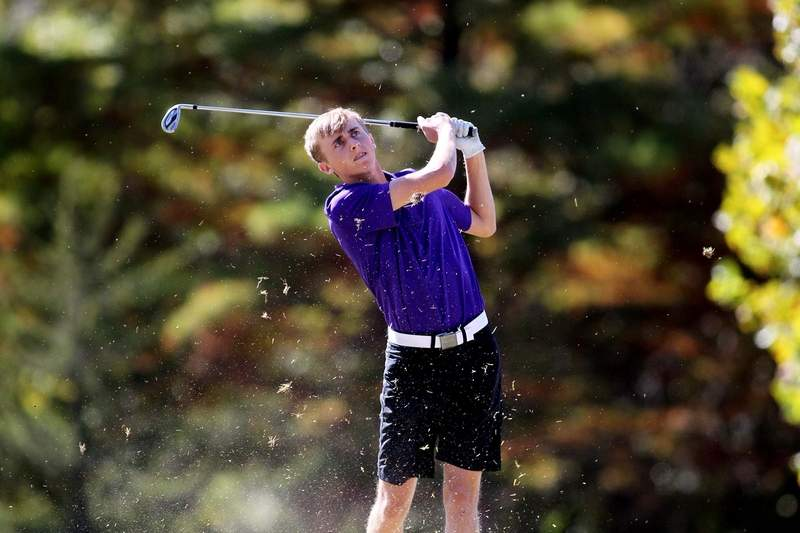 Harrisburg senior Andrew Bittle was one of four Class AA golfers to be named All South.