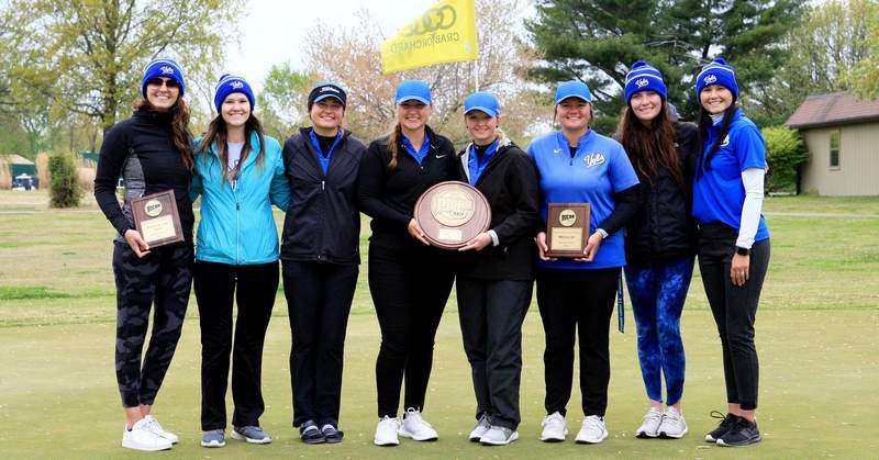 The John A. Logan women's golf team won the Region 24 women's golf tournament Tuesday at Crab Orchard Golf Course by a combined 65 shots.