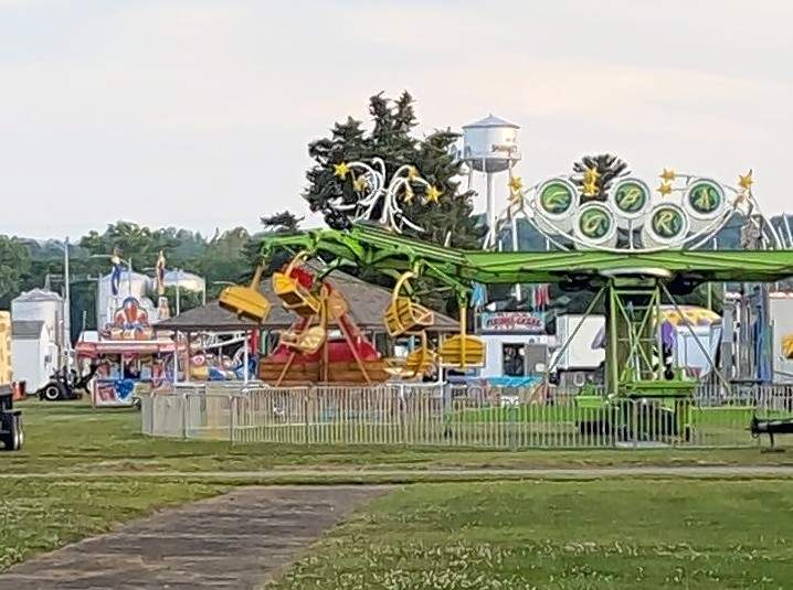 The carnival at Coal Days was a thrill for many in the community.
