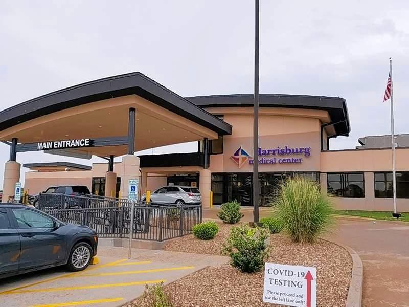 FILE PHOTOThe entrance of Harrisburg Medical Center.