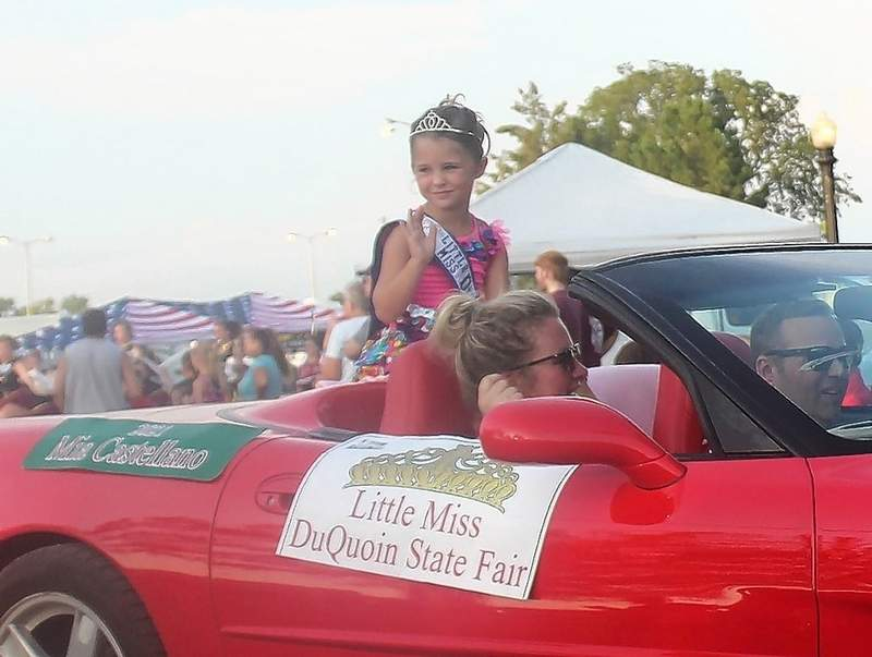 Mia Castellano was crowned Little Miss of the 2021 Du Quoin State Fair.