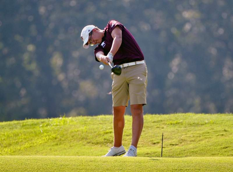 Cy Norman took medalist honors in three-out-of-four events the Benton boys' golf team participated in last week.